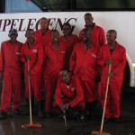 Bus Cleaners